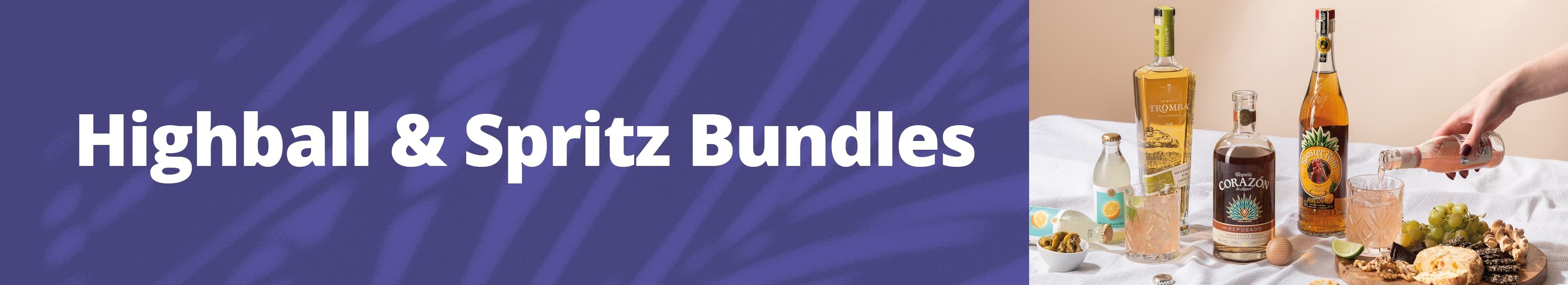 Highballs & Spritz Bundles banner