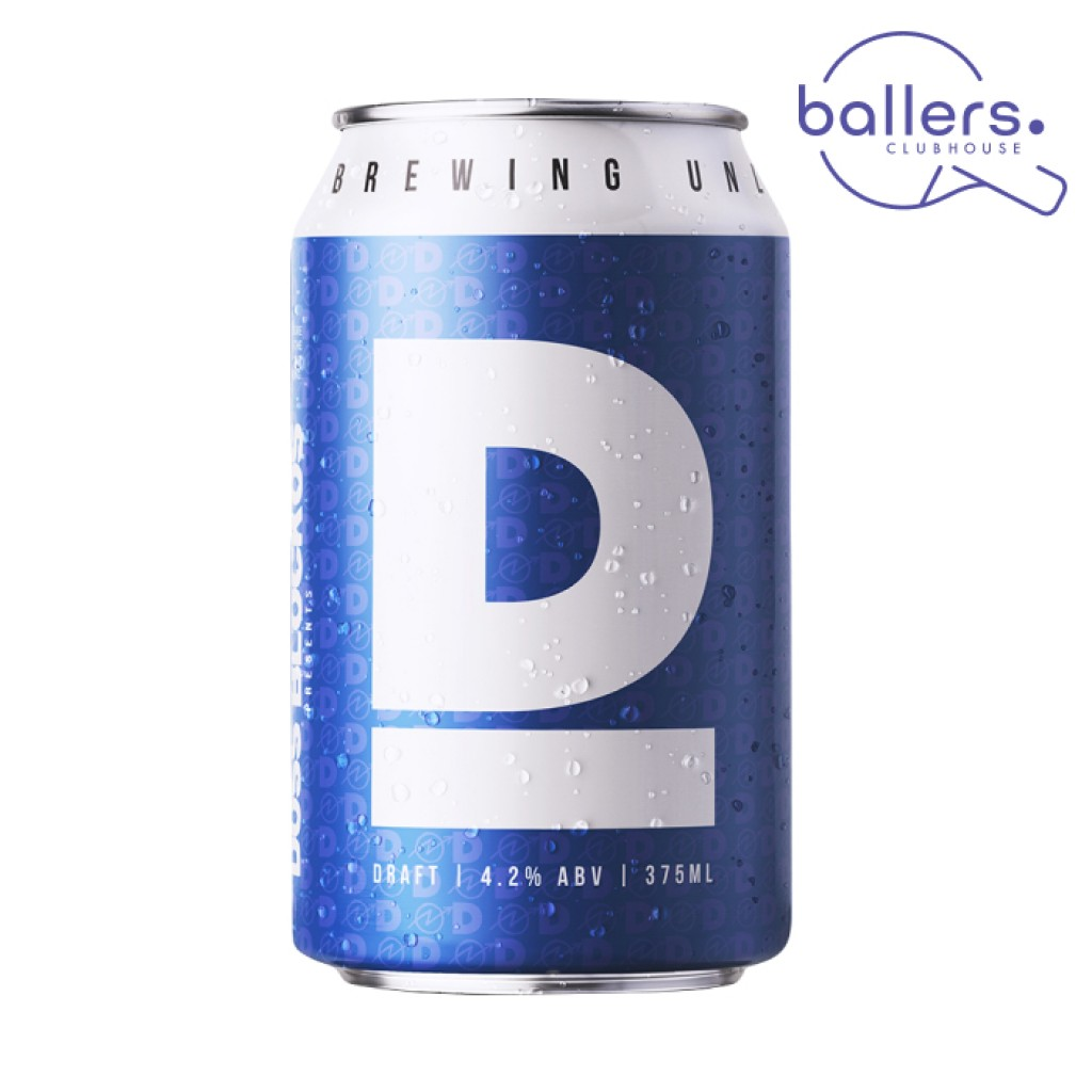 <p>Clean, refreshing lager is how the brand started all those years ago…but since then, the Doss Blockos recipe has been refined…and this is it- A freshly polished draft beer. Drink Doss Draft.<br><br><strong>For a limited time, purchase a case of Doss Blockos 'D' Draft or Doss Blockos 'X' XPA , and you'll receive a double pass to Melbourne's newest super-club- Ballers Clubhouse, valued at $50!</strong></p><p>At Ballers, enjoy a cold Doss Blockos 'D', and hone your skills on the venue's state-of-the-art dart boards, ping pong tables and shuffleboard courts…<br><br>You'll also go in the draw to win the Ultimate Ballers Experience- which includes two hours of games (along with a bit of coaching from our Ballers experts), and enough food and Doss Blockos 'D' for you and your three mates- valued at $500!</p>