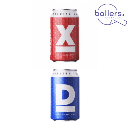 """<p><strong>For a limited time, purchase this case of Doss Blockos 'D' Draft and Doss Blockos 'X' XPA, and you'll receive a double pass to Melbourne's newest super-club- Ballers Clubhouse, valued at $50!&nbsp;</strong></p><p>At Ballers, enjoy a cold Doss Blockos 'D', and hone your skills on the venue's state-of-the-art dart boards, ping pong tables and shuffleboard courts…<br>&nbsp;<br>You'll also go in the draw to win the Ultimate Ballers Experience- which includes two hours of games (along with a bit of coaching from our Ballers experts), and enough food and Doss Blockos 'D' for you and your three mates- valued at $500!</p><p>&nbsp;They say, <em>""""Doss Blockos X marks the spot to a treasure trove of tropical hops. This XPA provides just the right amount of bitterness to balance out the malty goodness. This is brewed for drinking.""""</em></p><p><span>In a return to their roots Doss Blockos 'D' is a clean refreshing Lager and is how they started all those years ago. Since then, the recipe has been refined and this is it - A freshly polished draft beer.</span></p><p>Doss Blockos beers by East 9th Brewing are enjoyable, sessionable, and always with a lil extra somethin' somethin' to catch your interest and keep you coming back for more.&nbsp;</p><p>12 x Doss Blockos 'X' XPA Cans 375ml<br>12 x Doss Blockos 'D' Draft Cans 375ml</p>"""
