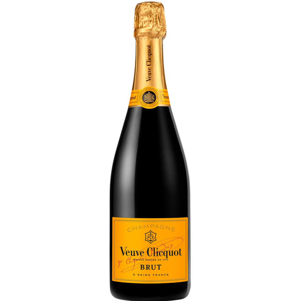 <p><span>Founded in 1772, Veuve Clicquot is one of the largest champagne houses in the world. This is true Champagne with heritage, and their consistently exquisite wines draw from some of the finest vineyards in the region. That's why we're still admiring these bubbles 250 years on.</span></p><p>&nbsp;</p><p><span>Grapes from as many as 50-60 different Crus are used for the blending of Yellow Label. The predominance of Pinot Noir provides the core structure of Clicquot, while a touch of Meunier rounds out the blend. Chardonnay adds the elegance and finesse essential to a perfectly balanced wine. Tightly knit, focused by robust acidity and a streak of minerality, this offers subtle notes of white peach, anise, biscuit and kumquat. The refined finish echoes a smoky note.</span></p>