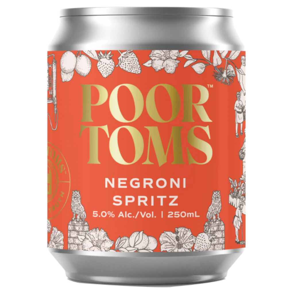 """<p><span>""""A Negroni-style spritz, reimagined"""". Nobody even knows what that means, not even the guys who said it. That was until they tasted our creation – a perfect romance of Poor Toms Strawberry Gin, Orange Aperitivo and tangy Mildura lemons. With the complexity, depth, the balance of a Negroni and the lightness of a spritz, this is a simple drink, made complicated, made simple again.</span></p>"""