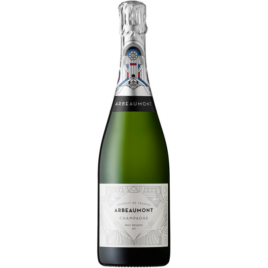 <p>36 months on lees gives this a bready, brioche character with a long, creamy palate, while the Chardonnay grapes provide freshness. Vibrant, but perfectly balanced. This is real Champagne.</p><p>&nbsp;</p><p>For Arbeaumont, Champagne and the people you share it with are the diamonds of life. Embodying the Art Deco glamour, but embracing classic styles combining Chardonnay, Pinot Meunier and Pinot Noir varieties, they create truly timeless, genuine Champagne.</p>