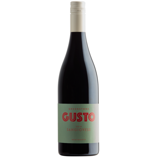 <p>They say,</p><p>A lot of attention goes into this as far as entry level wines go – actually 85% Sangiovese (mix of clones) with 10% Shiraz and 5% Colorino.</p><p>Fermented in tank and static fermenters and raised in stainless and seasoned oak. A whole bunch portion of roughly 30% provides further dimension. As arguably their signature grape, Greenstone have made a more than decent iteration, savoury, with cranberry and red currant fruit draped over lacy Sangio tannins.</p><p>Pizza wine plus.</p>