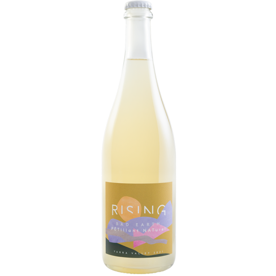 <p><span>Now, if this isn't a happy wine, we have no freaking idea what is&nbsp;—it's pure, unadulterated fizzy joy.</span></p><p>&nbsp;</p><p><span>A sparkling citrusy, lemongrass-y drink with Vietnamese mint leaf, some sweet yeasty bread dough characters - contributing a sweet yeastiness. A faint lick of guava on a palate dominated by fresh pear and lemon/ lime Splice; the mousse is creamy, the acid refreshing. If sherbet were a drink, this would be da Sherbet bomb.</span></p><p>&nbsp;</p><p><span>Although six blocks at the Rising vineyard contributed fruit to this wine, there were only three ferments – Gewurztraminer/Chardonnay, Savagnin/Chardonnay and Semillon/Sauvignon blanc (three field blends in one wine!). The four weeks between the first of these picks and the last, gave the first two batches time to ferment to dryness and settle somewhat before blending. All the batches were barrel fermented before being blended in tank. The Semillon/Sauv blanc which was last to be picked, was blended with the other batches prior to the completion of primary ferment, thus contributing residual sugar to the blend. The wine completed ferment in bottle to create pure, fizzy deliciousness.</span></p>