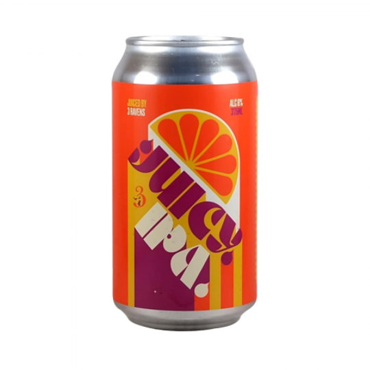 """<p>They say, <em>""""Hazy, fruity, lush. An unfiltered IPA with low bitterness and a smooth mouthfeel, combining protein rich triticale and oats, fruity yeast and new world hops to give the impression of breakfast juice.""""</em></p><p>&nbsp;</p><p>This lil old Melbourne brewery has been producing top-notch froth since 2003, and scored Champion Australian Independent Brewery at the 2019 Independent Beer Awards.&nbsp; If it's unique, they're doing it - and having a ton of fun. 3 Ravens are always experimenting, pushing the frontiers of fermentation and smashing out new specialties like it's nobody's business.</p>"""