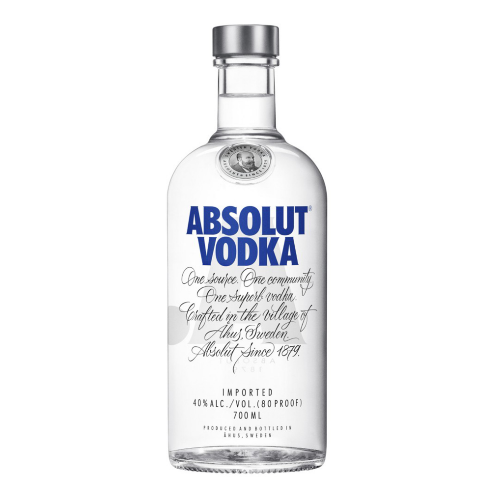<p>Smooth and clean with a fresh finish. What more could you want from a vodka?</p><p>&nbsp;</p><p>The winter wheat and pure water that make Absolut vodka are drawn from a single source in southern Sweden. Land-to-bottle master distillation with a low carbon footprint. Absolut quality assured.</p>