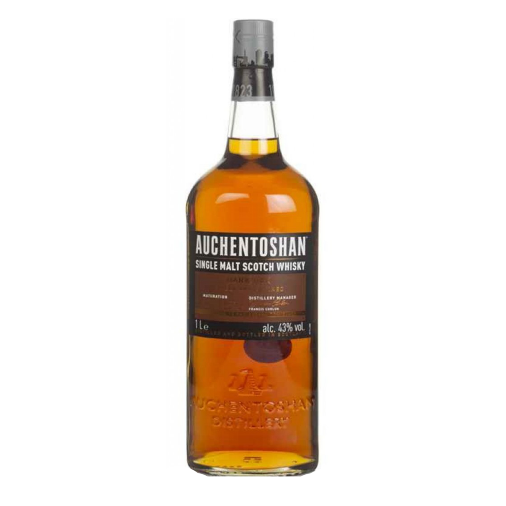 """<p>They say, <em>""""We travel the world to find the finest wood. And we've excelled with Auchentoshan Dar Oak. It's triple-distilled for smoothness then mellowed in bourbon, Oloroso and Pedro Ximenez sherry casks for added complexity.&nbsp;The result&nbsp;is a lively and refined malt with notes of vanilla and red fruits.&nbsp;The taste is spicy and sweet with roasted hazelnuts, brittle and toffee notes, crème caramel, candied apple and sugar almonds with a touch of liquorice stick tannins.""""</em></p><p>&nbsp;</p><p>The only single malt Scotch whisky where every single drop, in every bottle, is triple distilled. Auchentoshan make urban, city-inspired whisky from their Glasgow distillery where traditional craft meets progressive thinking. Matured in bourbon, sherry, and fine wine casks for a uniquely Auchentoshan colour and flavour. Whisky as welcoming as Glasgow itself!</p>"""