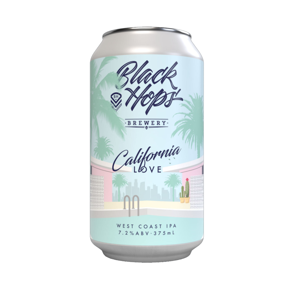 <p>Inspired by their founders' trip to the USA, California Love was one of the most popular releases of 2019 &amp; 2020 and a big fan favourite.</p><p>&nbsp;</p><p>In the current sea of sweet hazy's, Cali Love calls back to the style that pioneered the craft beer boom. At 7.2% and bursting with aroma of citrus fruits and pine, Cali Love offers a full malt body, dry finish and firm bitterness to allow the classic West Coast hop flavours to take centre stage.</p>