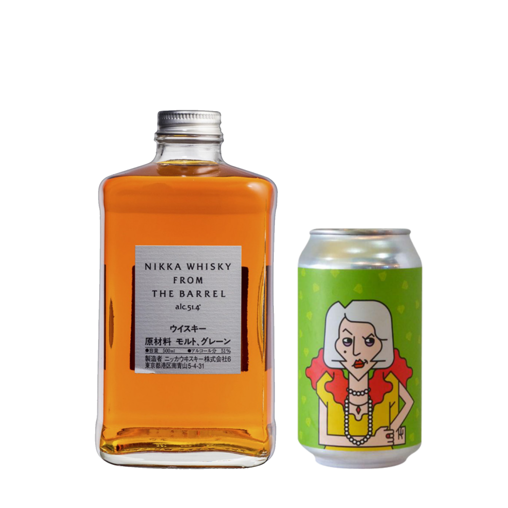 """<p>Nikka From The Barrel is big and fruity with a high alcohol content. A well hopped, citrusy ale like <span data-sheets-value=""""{&quot;1&quot;:2,&quot;2&quot;:&quot;4 x Coconspirators The Matriarch New England Ipa Cans : 355 Ml&quot;}"""" data-sheets-userformat=""""{&quot;2&quot;:15233,&quot;3&quot;:{&quot;1&quot;:0},&quot;10&quot;:2,&quot;11&quot;:0,&quot;12&quot;:0,&quot;14&quot;:[null,2,0],&quot;15&quot;:&quot;Calibri, sans-serif&quot;,&quot;16&quot;:12}"""">The Matriarch </span>will really elevate the fruity nature of the Whisky.</p><p>1 x Nikka Whisky From The Barrel Japanese Whisky 500ml</p><p><span data-sheets-value=""""{&quot;1&quot;:2,&quot;2&quot;:&quot;4 x Coconspirators The Matriarch New England Ipa Cans : 355 Ml&quot;}"""" data-sheets-userformat=""""{&quot;2&quot;:15233,&quot;3&quot;:{&quot;1&quot;:0},&quot;10&quot;:2,&quot;11&quot;:0,&quot;12&quot;:0,&quot;14&quot;:[null,2,0],&quot;15&quot;:&quot;Calibri, sans-serif&quot;,&quot;16&quot;:12}"""">4 x Coconspirators The Matriarch New England IPA 355ml</span></p>"""
