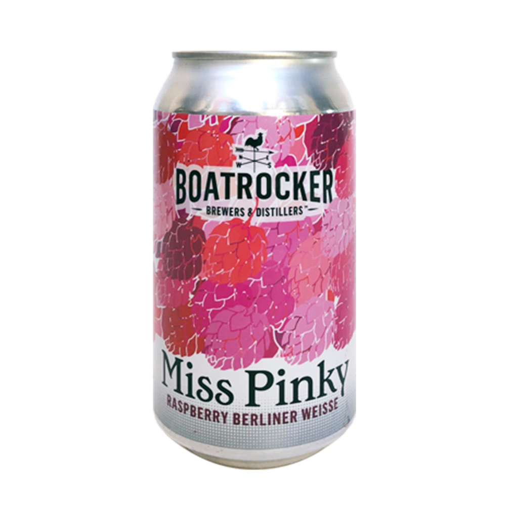 <p><span>Our take on a Berliner Weisse, Miss Pinky uses over 250kg of fresh Australian raspberries in every 4000L brew. The result is a stunningly vibrant pink hued beer with beautiful raspberry aromas and flavours up front with a dry and refreshingly tart finish.</span></p>