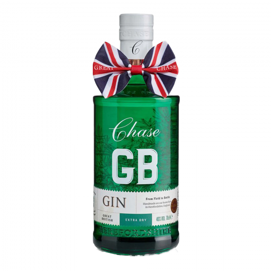 <p>GB Gin is crafted by copper pot distilling Chase Vodka with 10 botanicals; juniper, coriander seed, bitter almond, cinnamon bark, ginger, cloves, angelica root, liquorice root, lemon peel, and cardamom.&nbsp;</p><p>&nbsp;</p><p>This Great British Extra Dry gin is&nbsp;smooth &amp;&nbsp;full-bodied,&nbsp; perfectly balanced with juniper, spice and citrus. A must try for gin lovers.</p>