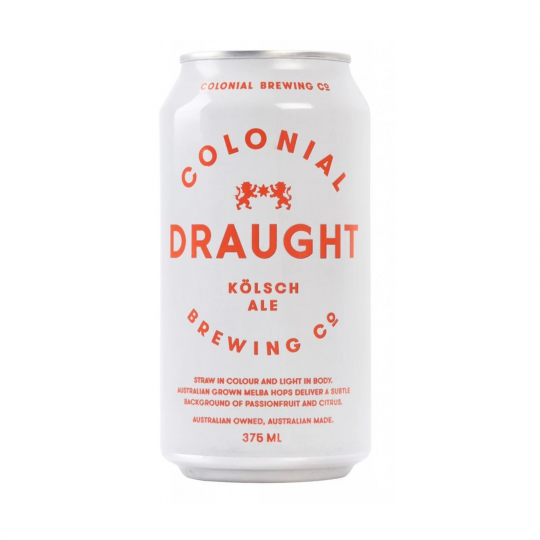 <p>It's draught, but not as you know it. Colonial Draught is the beer that goes with anything, and everything. Made using the same small-batch, artisan techniques as the rest of our range, and brewed to deliver a clean, crisp ale that's refreshingly uncomplicated, Colonial Draught is beer at its easy-drinking best. Smooth, with just a hint of floral hops, it's the hand- crafted draught that's perfect for every occasion.</p>