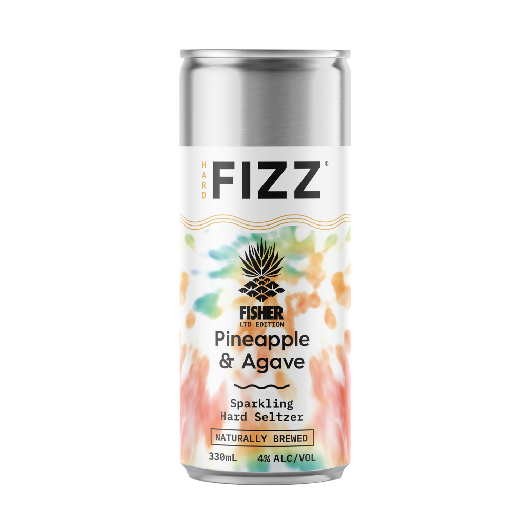 """<p dir=""""ltr""""><span>When we tasked the FISH to cook up his own brew it quickly became a no-brainer. Lover of the Pineapple and self-confessed Margarita addict, the man himself has expertly blended the sweet nectar of Agave with bright Pineapple notes to bring you arguably the tastiest Hard FIZZ yet.</span></p><p dir=""""ltr"""">&nbsp;</p><p dir=""""ltr""""><span>This one screams beach party!! Get ya lips around it.</span>&nbsp;</p><p dir=""""ltr"""">&nbsp;</p><p><em><span>Not only is it an epic looking tie-dye 10 pack, the Hard Fizz team have also stashed a handful of gold FIND THE FISH cans in selected cases for your chance to win the FIZZultimate prize for you and a mate.&nbsp;</span>Winners will get a double pass to FISHER's next Australian show, two return flights from their nearest major airport to the Gold Coast, two night's accommodation and an exclusive tour of the new FIZZ HQ on the GC, as well as so much FIZZ you'll be positively LOSING IT.</em></p>"""