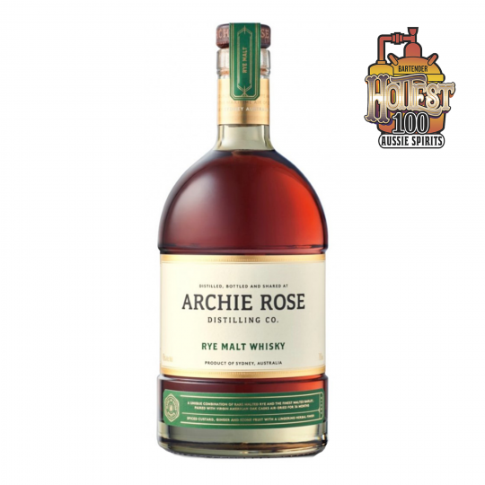 """<p>They say, <em>""""To create this truly unique whisky, we selectively sourced rare malted rye and the finest malted barley from progressive malt houses, paired them with virgin American oak casks air-dried for 36 months and let it all mature in the maritime air of coastal Sydney.""""</em></p><p>&nbsp;</p><p>Australia's most highly awarded distillery. Gin, whisky and vodka: whatever the Archie Rose distillers turn their hands to, they master - then take it to the next level.</p><p>&nbsp;</p>"""