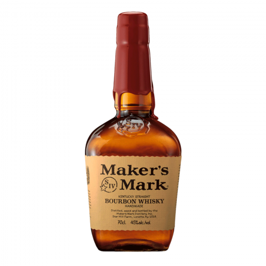 """<p>They say, <em>""""Woody oak, caramel, vanilla and wheat prevail in the nose.&nbsp;Sweet and balanced.""""</em></p><p>&nbsp;</p><p>""""If we could make it any faster, we wouldn't."""" Maker's Mark keeps the old world traditions and the craftsmanship it was founded upon, including Bill Samuels Sr.'s original special ingredient: soft red winter wheat, which imparts the unique sweetness and smoothness that is the true mark of Maker's.</p>"""
