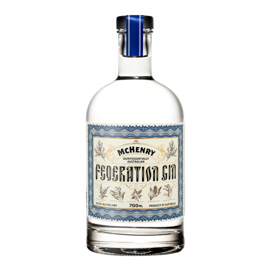 """<p>They say, <em>""""Our Federation Gin is Australia in a bottle. Kakadu Plum from the Northern Territory, Lemon Myrtle from Queensland, Strawberry Gum from New South Wales, Mountain Pepperleaf from the Australian Capital Territory, South Australian Wattle Seed, Cinnamon Myrtle from Victoria, Tasmanian Celery Top Pine, and Quandong from Western Australia.""""</em></p><p>&nbsp;</p><p>McHenry is Australia's southern-most whisky distillery - but they're equally renowned for vodka and gin. Distilling with their own spring water and sourcing local botanicals, McHenry spirits stand out for a cleanness and consistency of flavour that reflects their location in the pure sea-and-mountain air of Port Arthur.</p>"""