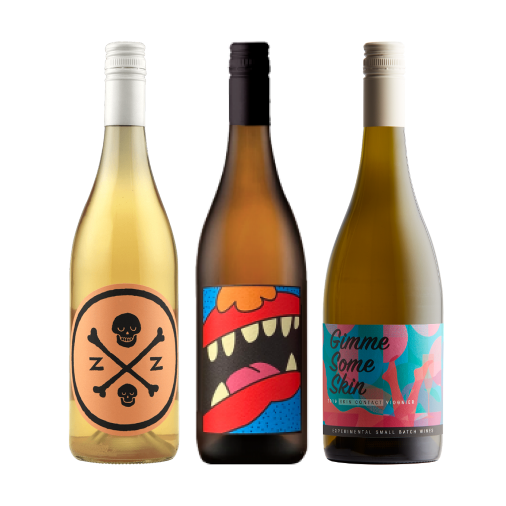 <p>This little 6 pack ticks all the orange wine boxes.&nbsp;</p><p>The best skin contact whites have texture and little tannin while still delivering freshness.&nbsp; These wines have all the key hallmarks in spades.&nbsp; Enjoy.</p><p>&nbsp;</p><p>2 x Dormilona Orenji Skin Contact Semillon Sauvignon Blanc, Margaret River, WA</p><p>2 x Animale Amber Gris, Yarra Valley, Vic</p><p>2 x Greenstone Gimme Some Skin Viognier, Heathcote, Vic</p>