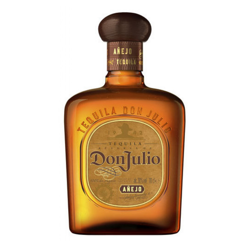 """<p>They say, <em>""""Barrel aged in smaller batches for eighteen months in American white-oak barrels. Rich, distinctive and wonderfully complex, its flavour strikes the perfect balance between agave, wood and hints of vanilla.""""</em></p><p>&nbsp;</p><p>1942: Don Julio González creates his first tequila at just 17 years old. Within five years, he'd opened his own luxury tequila distillery – the rest is history. The iconic shorter Don Julio tequila bottle is much more than branding: taller tequila bottles were traditionally placed under tables, and Don Julio wanted a bottle that could could be easily shared and passed around. Fast forward to today and we are still enjoying boozy nights sharing tequila across tables and bar tops.</p>"""