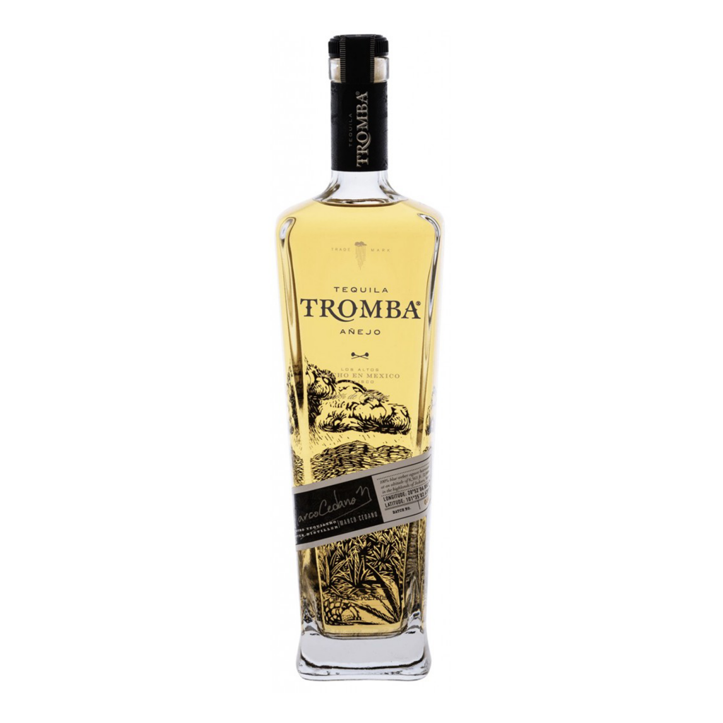 <p><span>Tromba Añejo ages in barrels for 2 years. Tasted monthly, it gets bottled only when Master Distiller Marco Cedano and son Rodrigo agree it's ready. Production schedules and efficiencies be damned, quality and superior taste is the only commitment that matters to these two. A perfect choice for the fine tequila, scotch or bourbon lover.</span></p>
