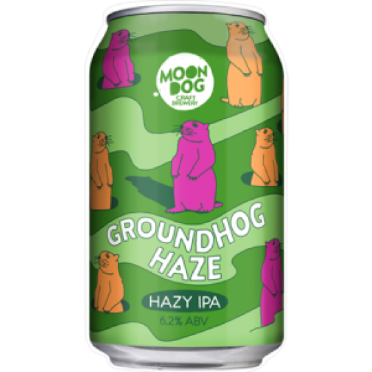 <p>They say...</p><p><span>Okay campers rise and shine! Our latest release will have you coming back over and over aaaand over again...it's Groundhog Haze Hazy IPA! Old mate Punxsutawney Phil is predicting this one will be a bloody ripper! This Hazy IPA is loaded with heaaaaps of citrus-y, apricot-y and grapefruit-y juiciness and plenty of hazy, beer-y deliciousness! Packed to the brim with fruity flavour thanks to Idaho 7, Citra and Strata hops and with an undeniably solid haze, this one looks as good as it tastes!</span></p>