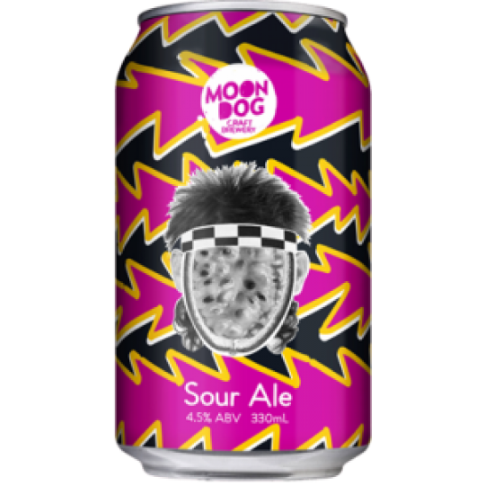 """<p>They say...</p><p class=""""beer-description"""">There were few Aussie mullets that were more magnificent in the 80s than that of tennis superstar Pat Cash. Pat Pash Sour Ale combines 4.2 metric tonnes of passion fruit (a measly 150,000 passion fruits!) with that iconic checkered headband and of course those luscious locks! The flavour is short and tart upfront and long and passion fruit-y at the back!</p>"""