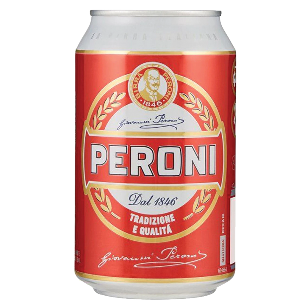 <p>Brewed in Italy since the '60s, still crisp and fresh as heck. Buonissimo.</p>