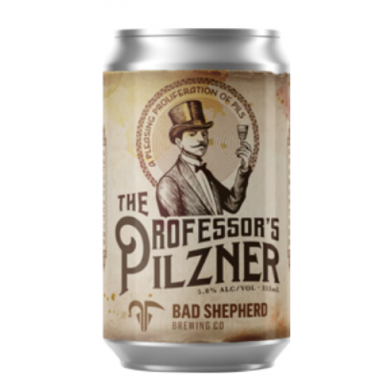 <p>The Professor's Pilzner&nbsp;is inspired by the softer Germany examples and, while the label says it's been brewed with modern day hops, it remains firmly planted in the old school, as hinted at by the medicine man-inspired label with a touch of the faded treasure map about it. Aromas of freshly cut grass in the summer sun mix with soft, doughy malts, a waft of sulphur, and a gentle bitterness in a beer far simpler than most limited releases to come from the Cheltenham brewery in recent times.</p>
