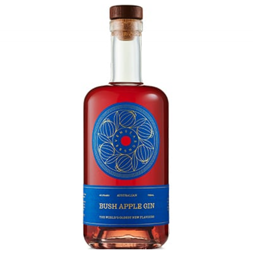 <p>Bush apples give this gin floral, berry and eucalyptus flavours. Nature makes it pink, and delightful to drink.</p><p>&nbsp;</p><p>Garnish your G&amp;T with white grapefruit and mint.</p>