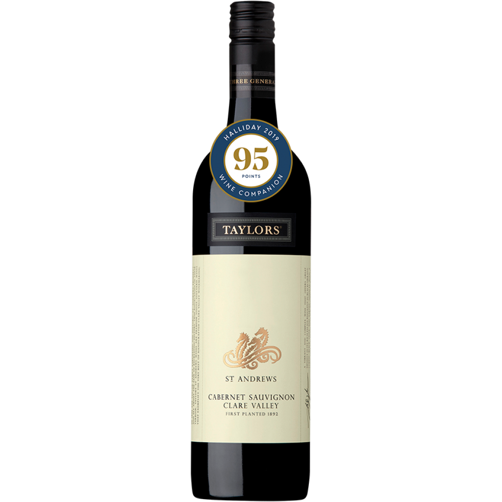 """<p><em>They say, """"Fine tannins and opulent cassis and fresh blackberry fruit are combined with cedar oak notes."""" </em></p><p>&nbsp;</p><p><span>Taylors is a world-renowned winery and an Australian household name. Still family-owned after 50 years, their wines show off everything the Clare Valley has to offer, from classics to limited releases and innovations, including the world's first internationally recognised carbon neutral wine.</span></p>"""