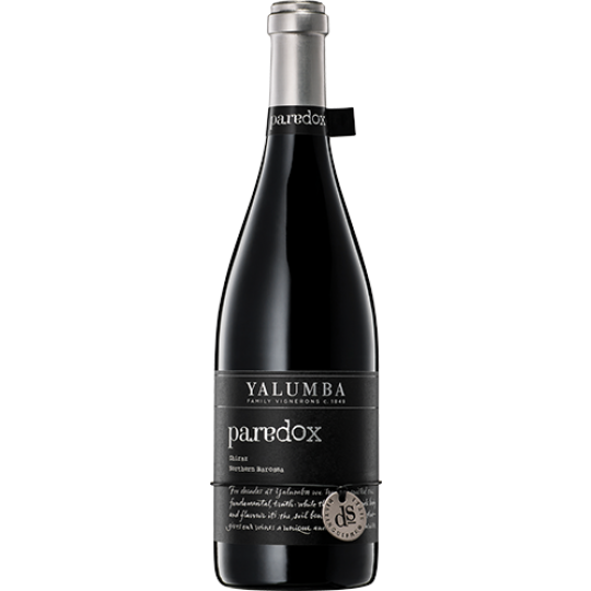 <p><span>Yalumba Paradox Shiraz is an inky, crimson wine full of aromas of mixed spice and crushed black pepper, violets, fennel and hints of blueberries. The palate is like layers of velvet, with great structure showing lush red berries, olives and anise.</span></p>