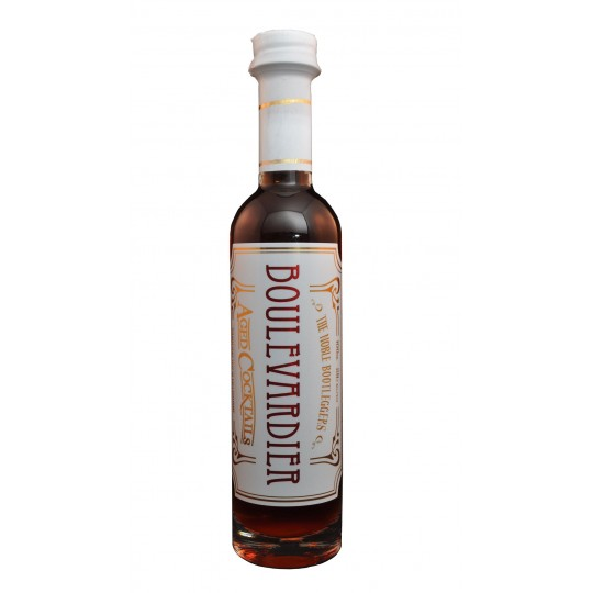 """<p>They say, <em>""""Solera-aged blend of bourbon and rye. American oak barrel-aged Campari and Maidenii vermouth. Sweet, bitter and smooth.""""</em></p><p>&nbsp;</p><p>Noble Bootleggers Co's award-winning gin-novations are experimental, contemporary and inspired by unique Australian flavours. What could be more noble than that?</p>"""