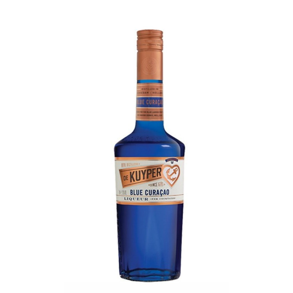 <p><span>Over three centuries of excellent quality from the heart of Schiedam. De Kuyper make over 70 varieties of liqueur found behind the best bars across the globe. For all your cocktail-making, De Kuyper has the goods.</span></p><p>&nbsp;</p><p><span>Made from the Lahara fruit, famous for its distinctive flavour. Vibrant blue in colour, flavours of oranges, lemon and curacao fruit are blended to compose this extremely versatile liqueur, making it the perfect addition to many cocktails.</span></p>