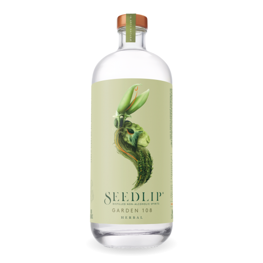 """<p>They say, <em>""""A floral blend of hand-picked peas and homegrown hay, with traditional garden herb distillates in celebration of the English countryside. Simply serve with tonic and a sugar snap pea to garnish.""""</em></p><p>&nbsp;</p><p>Introducing the world's first triple-distilled, non-alcoholic spirits – because 'no booze' shouldn't mean 'no quality'. Seedlip's vision to make the ultimate drink for when you're not drinking has brought premium non-alcoholic tipples to the masses.</p>"""